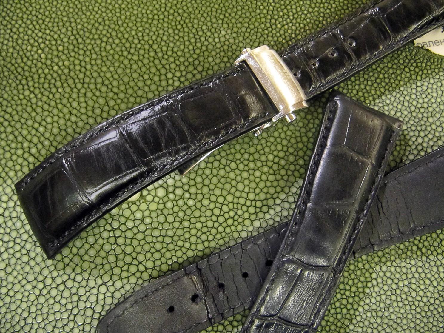 Купить ремешок к часам морис лакруа часы свотч где купить